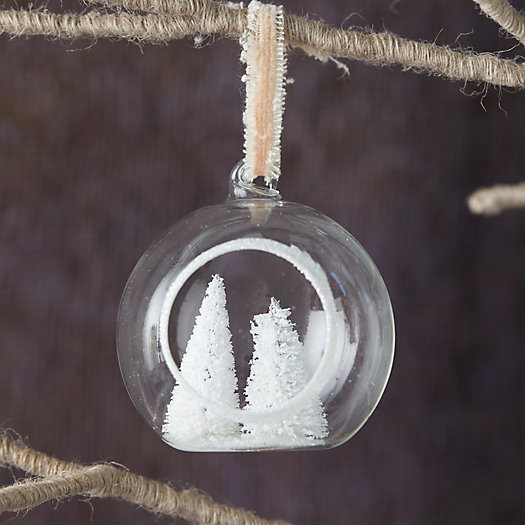 View larger image of Evergreen Tree Globe Ornament