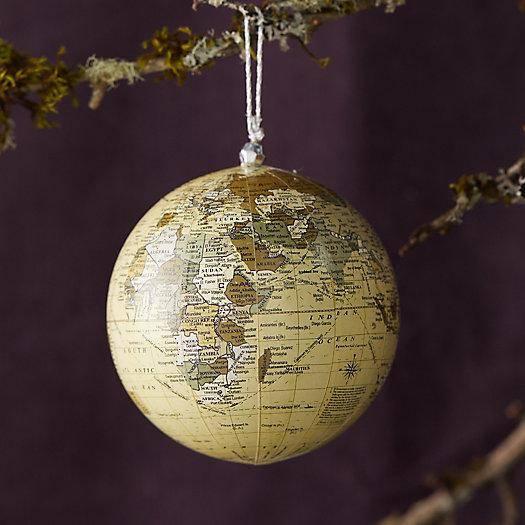 View larger image of World Globe Ornament