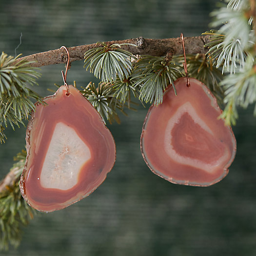 View larger image of Agate Gemstone Ornament Set