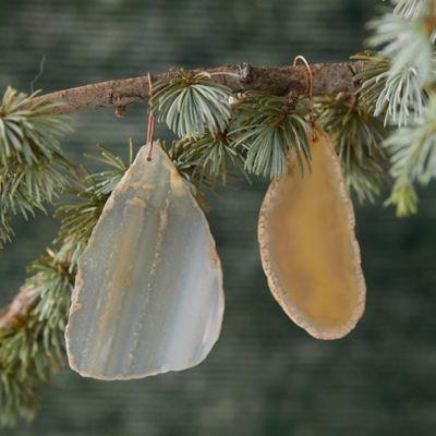 Agate Gemstone Ornament Set