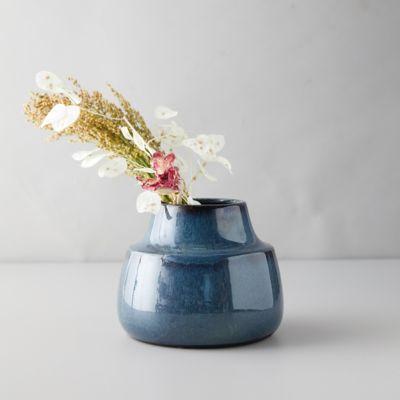 Reactive Stoneware Vase
