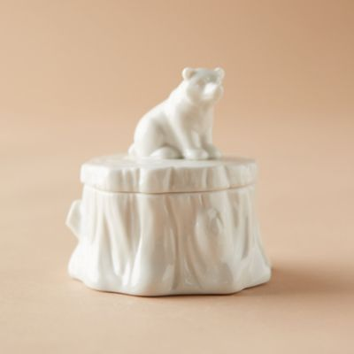 Brown Bear Trinket Box