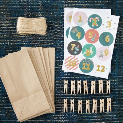 Design-Your-Own Advent Calendar Kit
