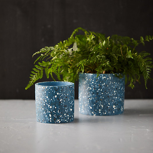 View larger image of Terrazzo Cylinder Planter
