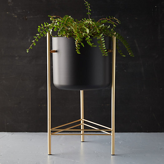 View larger image of Iron Pot + Brass Stand