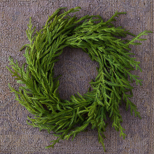 View larger image of Faux Cryptomeria Wreath