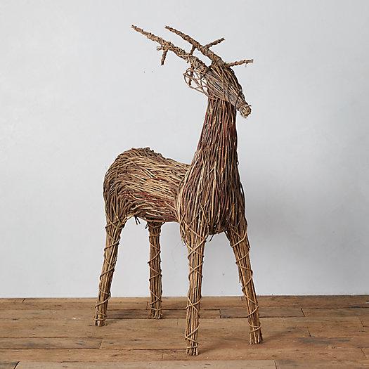 View larger image of Standing Reindeer Garden Figure