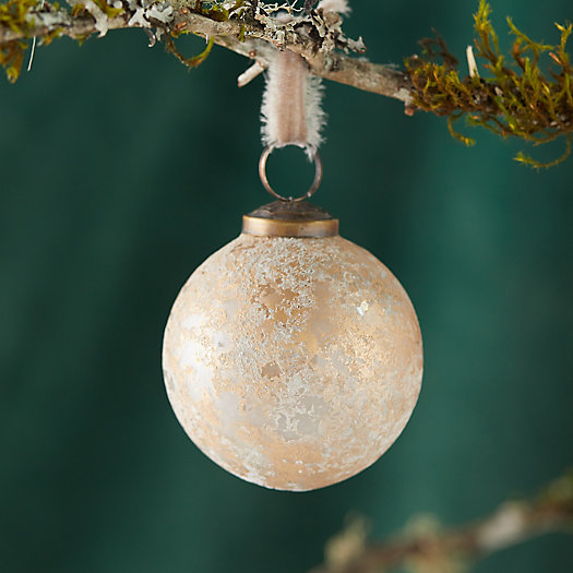 View larger image of Gold Patina Globe Ornament