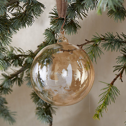 View larger image of Sheer Glass Globe Ornament