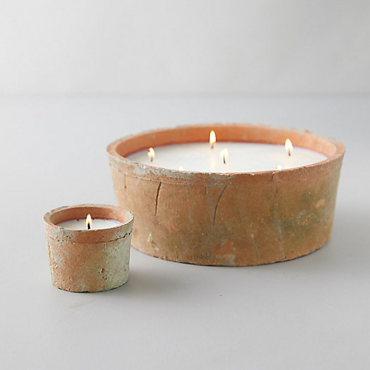 View larger image of Linen Pot Citronella Candle