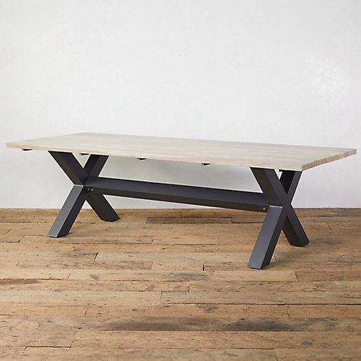View larger image of Cross Teak Table