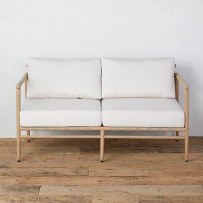 Grove Teak 2 Seat Sofa