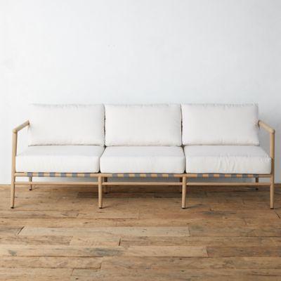 Grove Teak 3 Seat Sofa