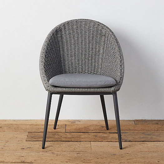 View larger image of Canyon Curve Aluminum + Woven Rope Side Chair