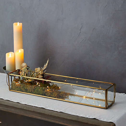 View larger image of Mirrored Candle Trough