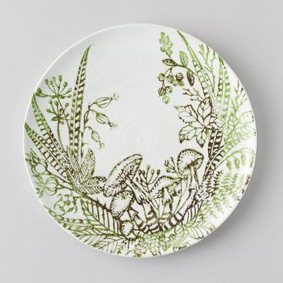Fern + Mushroom Plate