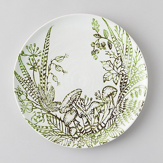 View larger image of Fern + Mushroom Plate