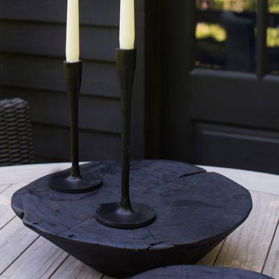 Matte Black Candlestick