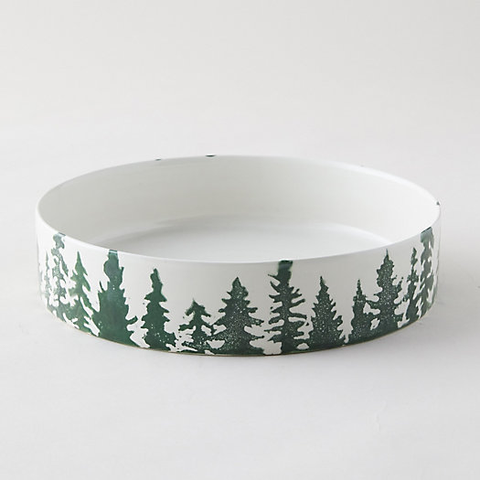 View larger image of Evergreen Trees Serving Dish