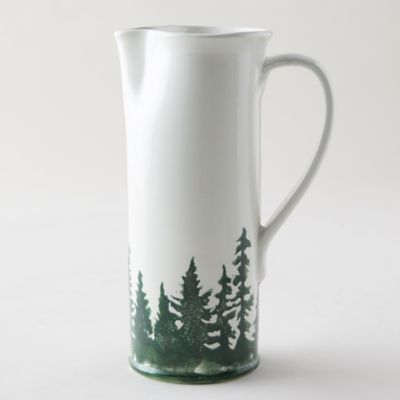 Evergreen Trees Pitcher