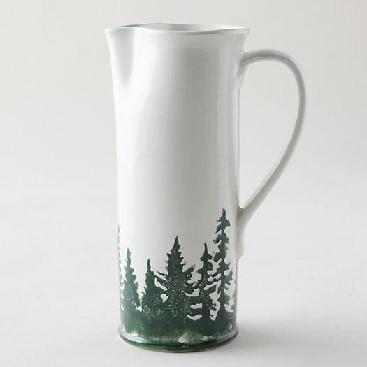 View larger image of Evergreen Trees Pitcher