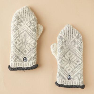 Women's Nordic Wool Mittens