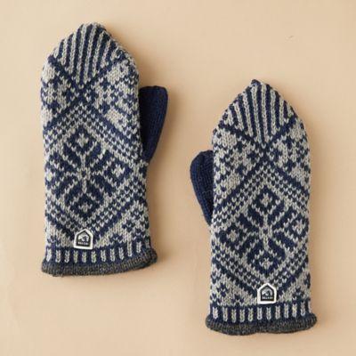 Men's Nordic Wool Mittens