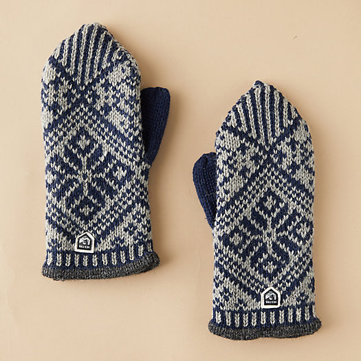 View larger image of Men's Nordic Wool Mittens