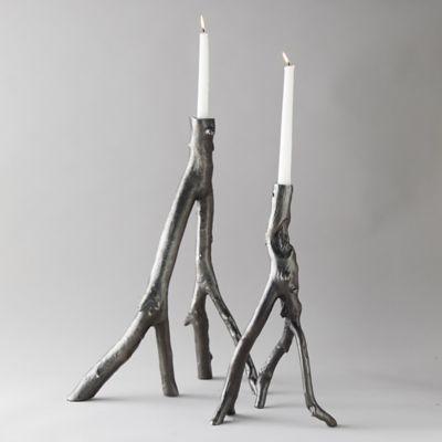 Cast Aluminum Branch Candle Holder