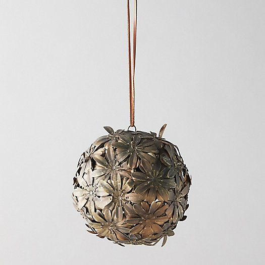 View larger image of Hanging Iron Floral Sphere