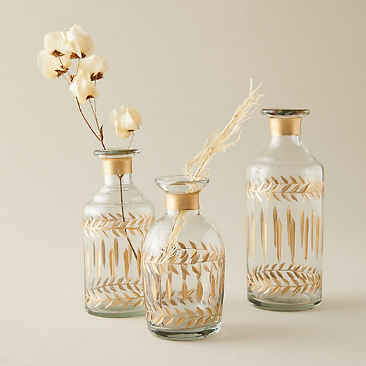 View larger image of Gilded Etched Bottle