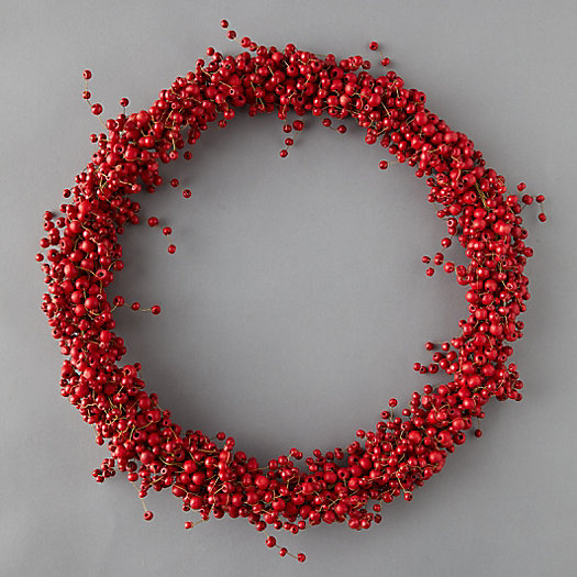 View larger image of Red Berry Wreath