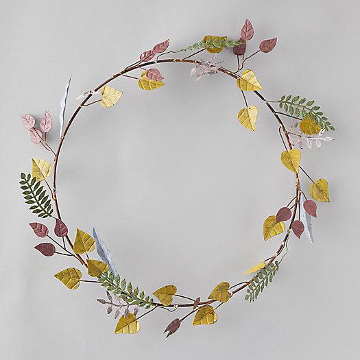 View larger image of Autumn Leaf Wreath