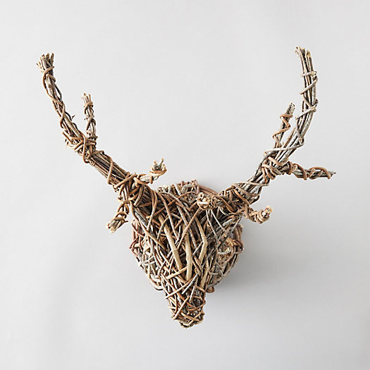 View larger image of Round Vine Stag Wall Hanging