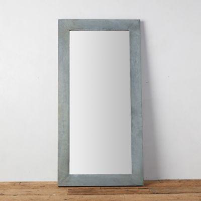 Antiqued Zinc Outdoor Mirror