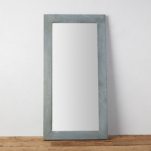 View larger image of Antiqued Zinc Outdoor Mirror