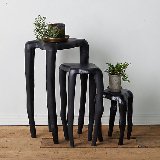 View larger image of Black Teak Root Plant Stand