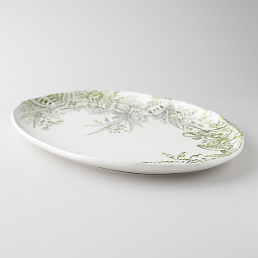 View larger image of Fern + Mushroom Serving Plate