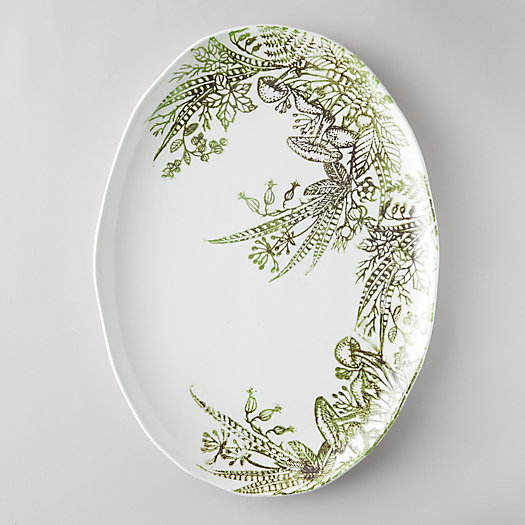 View larger image of Fern + Mushroom Serving Plate