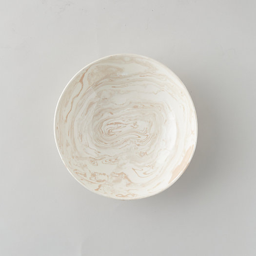 View larger image of Marbled Ceramic Serving Bowl