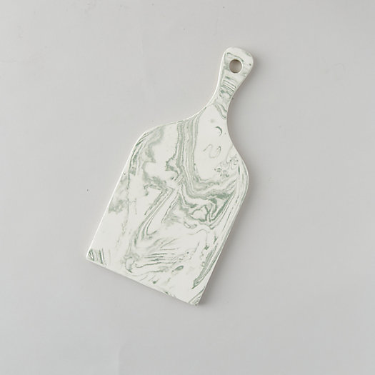 View larger image of Marbled Ceramic Serving Board