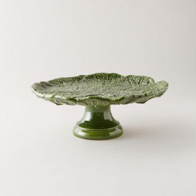 Kale Leaf Cake Stand