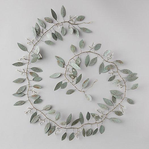 View larger image of Pressed Metal Eucalyptus Garland