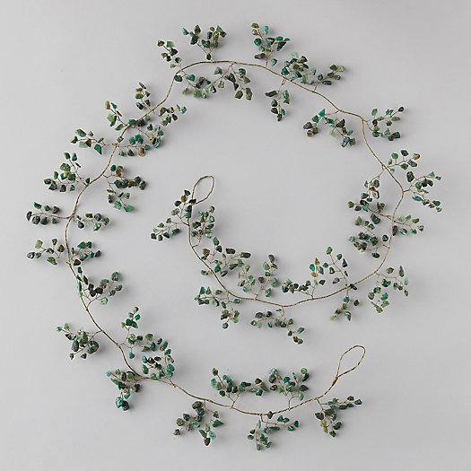 View larger image of Green Quartz Stone Garland