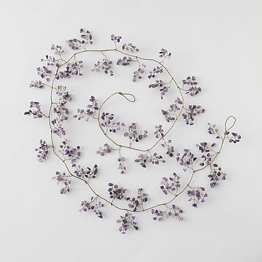 View larger image of Amethyst Stone Garland