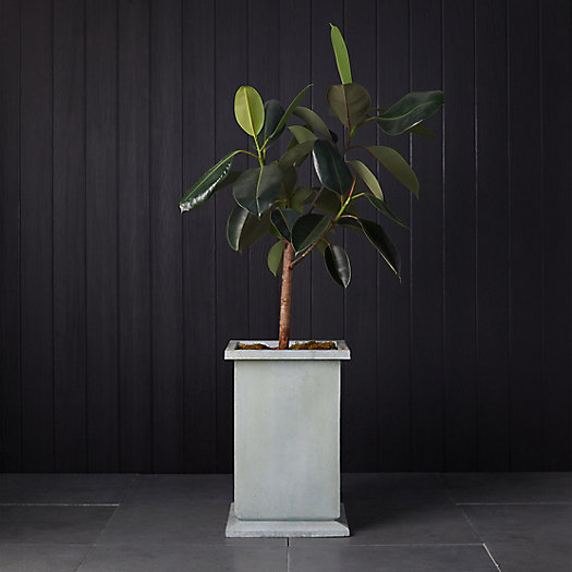 View larger image of Low Footed Antiqued Steel Planter