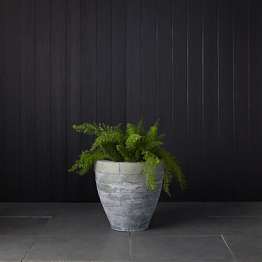 View larger image of Antiqued Steel Bowl Planter