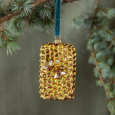 Honeycomb Glass Ornament