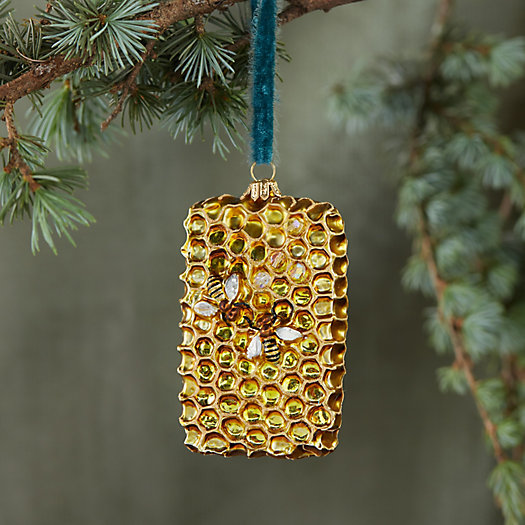 View larger image of Honeycomb Glass Ornament