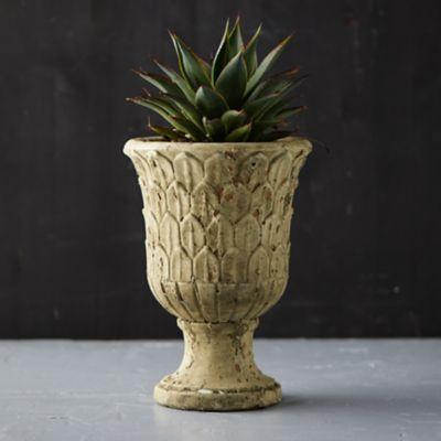 Ceramic Petal Urn